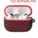 Cover for Airpods Pro 2 1 Case Silicone Air Pods Earphone Protector for Nike Airpod2 A-pro black red