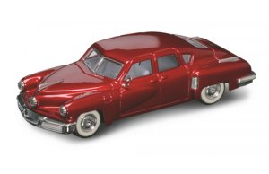 Road Legends 1948 Tucker Torpedo By Yat Ming, 1:43 Scale - Red