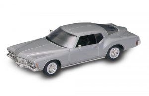 Road Legends 1971 Buick Riviera GS by Yat Ming, 1:43 Scale - Silver