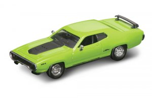 Road Legends 1971 Plymouth GTX By Yat Ming, 1:43 Scale - Green