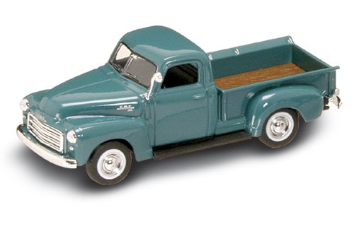 Road Legends 1950 GMC Pick Up By Yat Ming, 1:43 Scale - Green