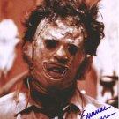 "Gunner Hansen 8 x 10"" Autographed Photo Texas Chainsaw Massacre  (Reprint 54) FREE UK Shipping"