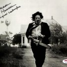 "Gunner Hansen 8 x 10"" Autographed Photo Texas Chainsaw Massacre  (Reprint 55) FREE UK Shipping"