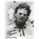 "Gunner Hansen 8 x 10"" Autographed Photo Texas Chainsaw Massacre  (Reprint 56) FREE UK Shipping"