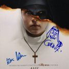 The Nun Movie Poster Signed By Bonnie Aarons with Sketch (Reprint 57) FREE UK Shipping