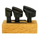 """Fly Cutter Holder 3 pcs With ½"""" Shank Wooden Stand Without Tool Bit"""