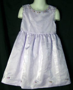 Polly Flinders Special Occasion Dress Lavender Size 5