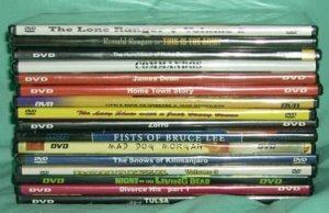 DVD Lot of 16 Most NEW James Dean M Monroe Bruce Lee