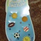 Shoe Dazzler Crocs Clogs 5 Piece Shoe Charms SPORTS
