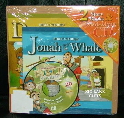 Bible Stories CD AudioBook David & Goliath Jonah &Whale