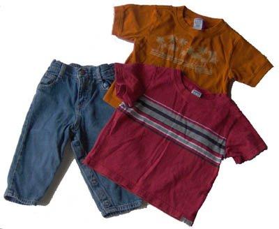 Boys Lot 18 - 24 Months Gymboree Shirts Osh Kosh Jeans