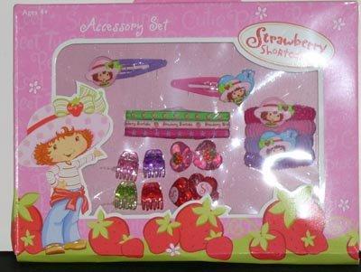 Strawberry Shortcake Hair Accessories Set NEW