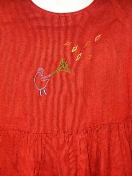 Cornelloki Deep Red Jumper Dress Girl's Size 5/6