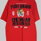 Fubu Premium Red Logo Shirt T-Shirt L Large NEW