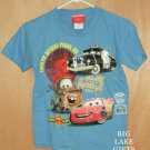 Disney CARS Shirt Lightening McQueen Mater NEW 6/7