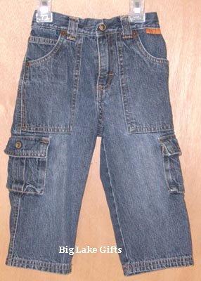 Gymboree Safari Adventure Denim Jeans 18 - 24 Months