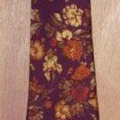 Christian Dior Monsieur Floral Silk Tie Necktie