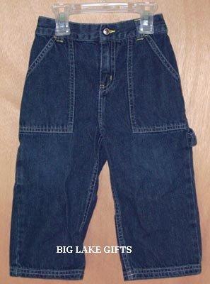 Gymboree Boy's Denim Jeans Size 2 2T Soccer Line