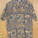 Vintage Reyn Spooner Reverse Print Aloha Shirt Size Large L