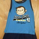 Curious George 2pc Shorts & Shirt Outfit Size 18 Months New