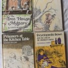 4 Weekly Reader Vintage Hard Cover Books
