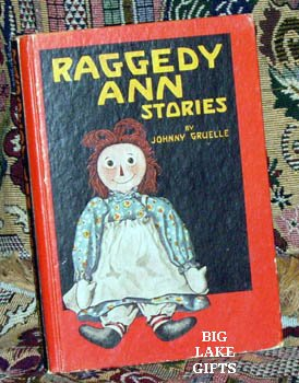 Raggedy Ann Stories by Johnny Gruelle 1947 HC Book