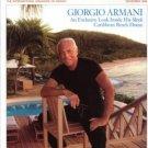 Architectural Digest Magazine Nov 2006 GIORGIO ARMANI