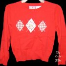 Strawberry Shortcake Red Winter Sweater Size 4/5 NEW