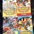 Fisher Price Rescue Heroes Movies VHS Video Lot
