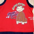 Curious George Outfit Shirt & Shorts Size 18 Months NEW