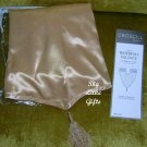 Croscill Waterfall Valance Capri Satin Gold NEW