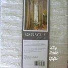 Croscill Ascot Valance Veronica Pleat Ivory NEW