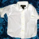 Ralph Lauren White Dress Shirt Girl's Size 12 Months Top