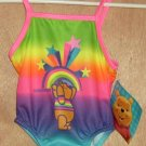Winnie The Pooh Rainbow Swim Bathing Suit 12 Months NEW