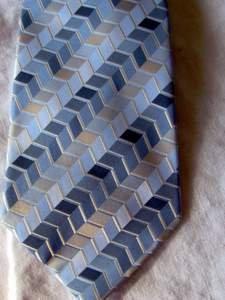 $25 DOCKERS Silk Neck Tie w/ Stain Defender - NEW Blue