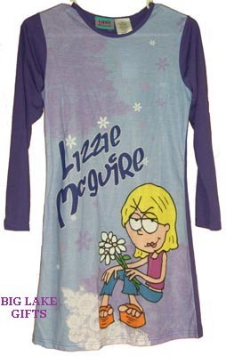 Lizzie McGuire Nightgown Size 10/12 Pajamas NEW