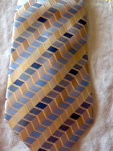 Dockers Silk Neck Tie w/ Stain Defender LOT of 2 NEW