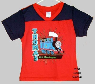 Thomas The Tank Engine Train Shirt Boy's 4 4T NEW Top