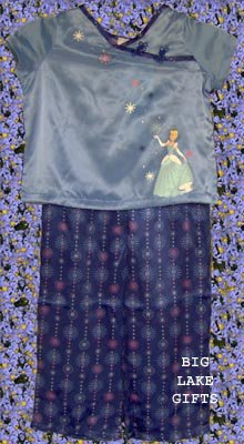 Disney Store Princess Cinderella PJ's Pajamas 2/3 2T 3T NEW