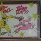 Power Rangers Birthday Invitations NEW Free Shipping