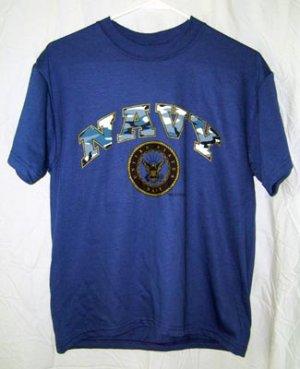 Youth United States NAVY T-Shirt Size 10/12 NEW USN