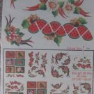 Decoupage Prints Vegetable Seed Packets - NEW