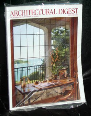 Architectural Digest Back Issue December 2006 12/06