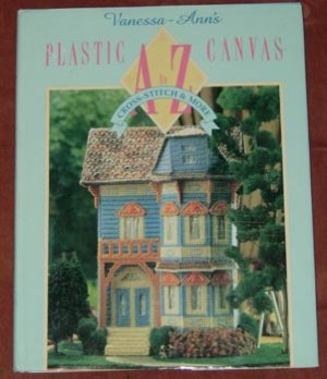 Vanessa-Ann's Plastic Canvas A to Z HC Book Free Shipping