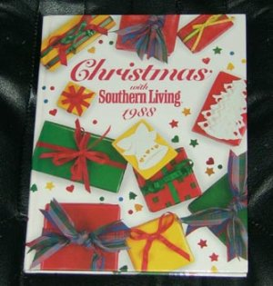 Christmas with Southern Living 1988 Craft & Recipe Book