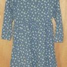 My Twinn Periwinkle Snowflake Dress Size XS 3/4 3T 4T