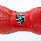 2units Pillow Headrest Comfortable Cushion Pad with Logo Porsche Cayenne
