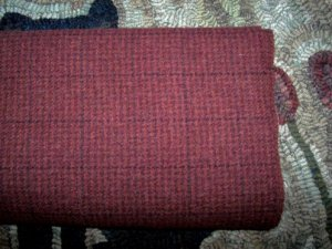 CRANBERRY CRUNCH - as is mill dyed wool for Rug Hooking & Quilting