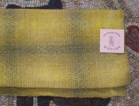 FIREFLIES - Hand Dyed Wool Rug Hooking, Quilting, Applique crafts