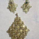 Awesome Sarah Covington Earrings & Pendant Set